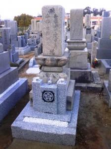 平太郎墓改修工事完了