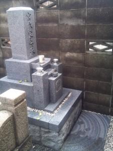 宮本家墓石五年点検